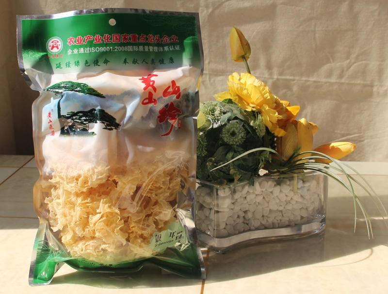 【黄山馆】 黄山徽菇 黄山山珍 食用菌  优质银耳120g袋装