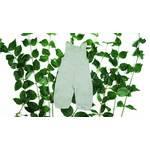 婴儿棉连身裤总有机棉 手工制作的丹麦 自然的色彩以白色为主有绿色和灰色
