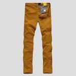 lesmart 莱斯玛特 男士休闲裤 男装修身舒适棉麻长裤 糖果色休闲裤 多色可选 LW14099