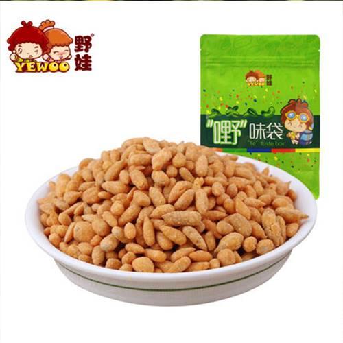 【野娃】休闲零食品坚果炒货特产蟹香味葵花籽仁瓜子仁300g袋