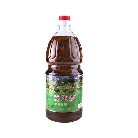 将军寨  非转基因菜籽油  2.5L