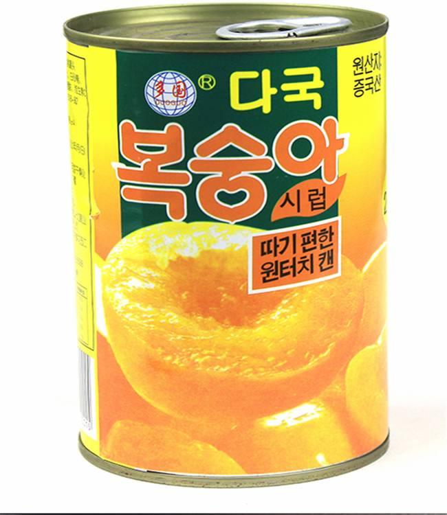 正品多国桃贵妃黄桃罐头12罐*425克 新品上市 安徽特产全国包邮