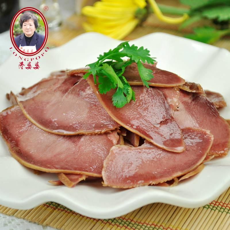隆婆婆 腊猪舌 350g/袋