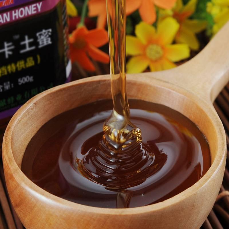 蜂献 阿里卡土蜜  中草药蜜源 百花蜂蜜 天然农家自产土蜂蜜 500g
