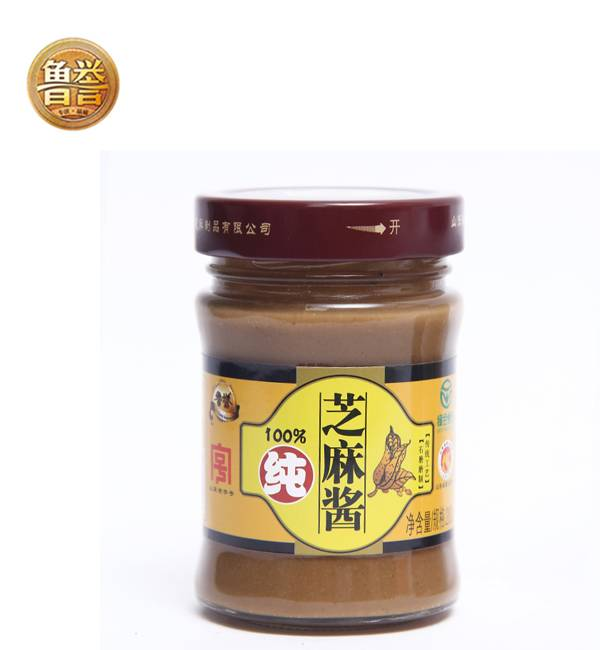 山东老字号鲁誉石磨芝麻酱 纯白芝麻酱 拌面拌菜火锅调料热干面
