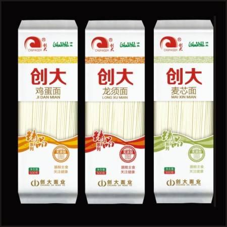 河南创大【精品】系列套餐鸡蛋面+龙须面+麦芯面500g*3
