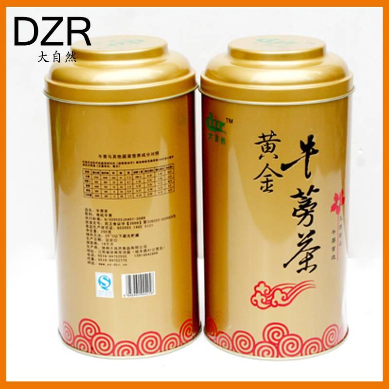 大自然 铁罐黄金牛蒡茶